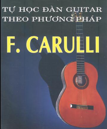 Tab guitar bài tập carulli chuẩn ghi rõ thế tay