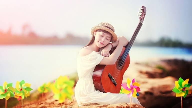 Em gái mưa guitar tab fingerstyle – Học đàn guitar fingerstyle