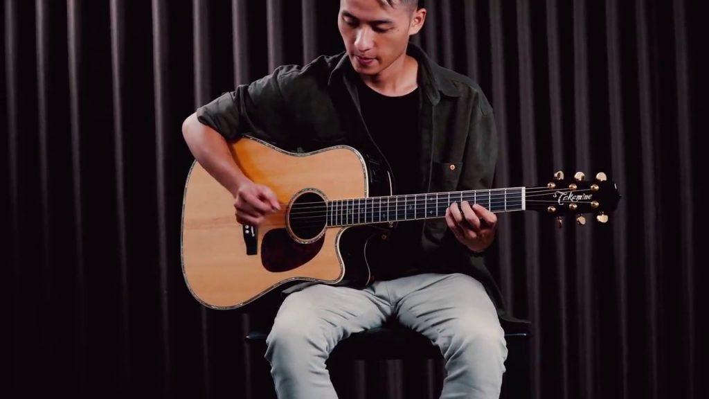 hoc dan guitar fingerstyle lac troi tab guitar pro